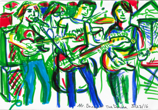 Mr Bones - The Dacha - 5-27-16